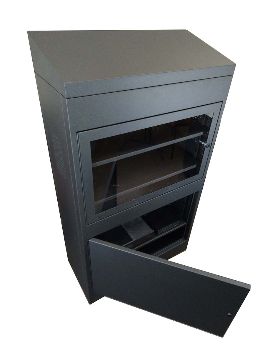 Sloped Top Ligature Resistant Cabinet
