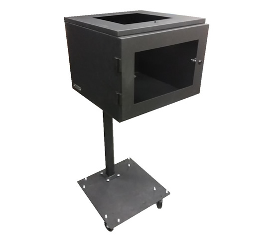 Printer Enclosure with Optional Pedestal