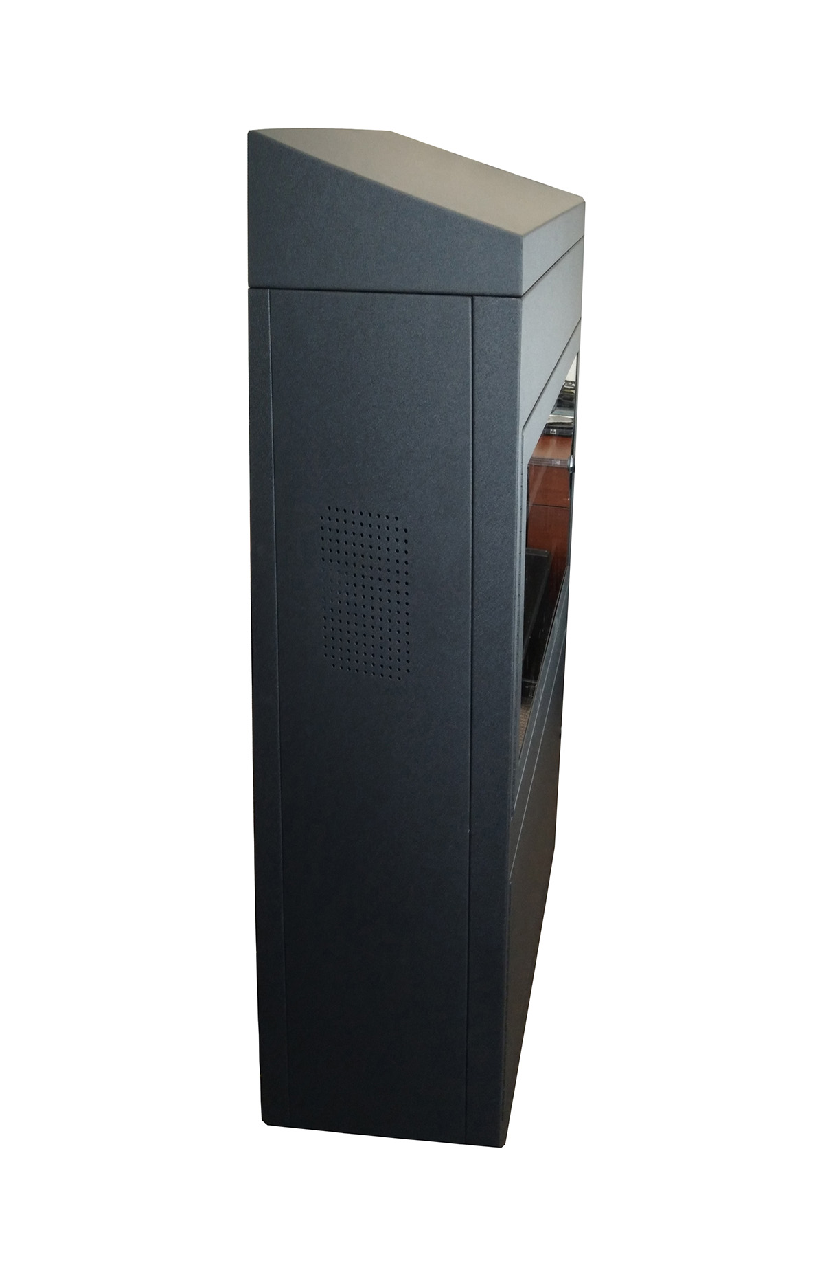 Sloped Top TV Enclosure Cabinet