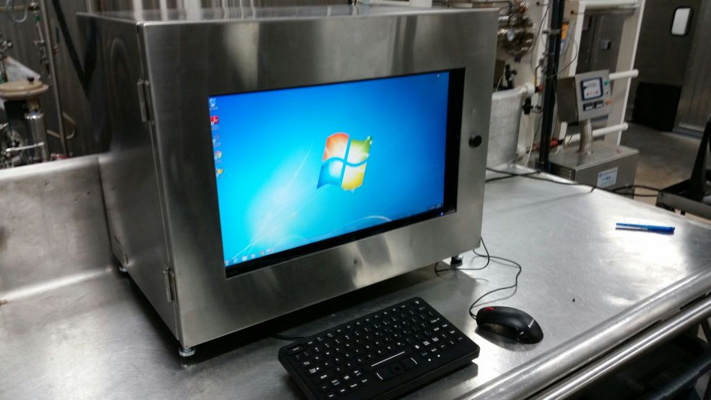 Our PC Qube in a chemical engineering plant.