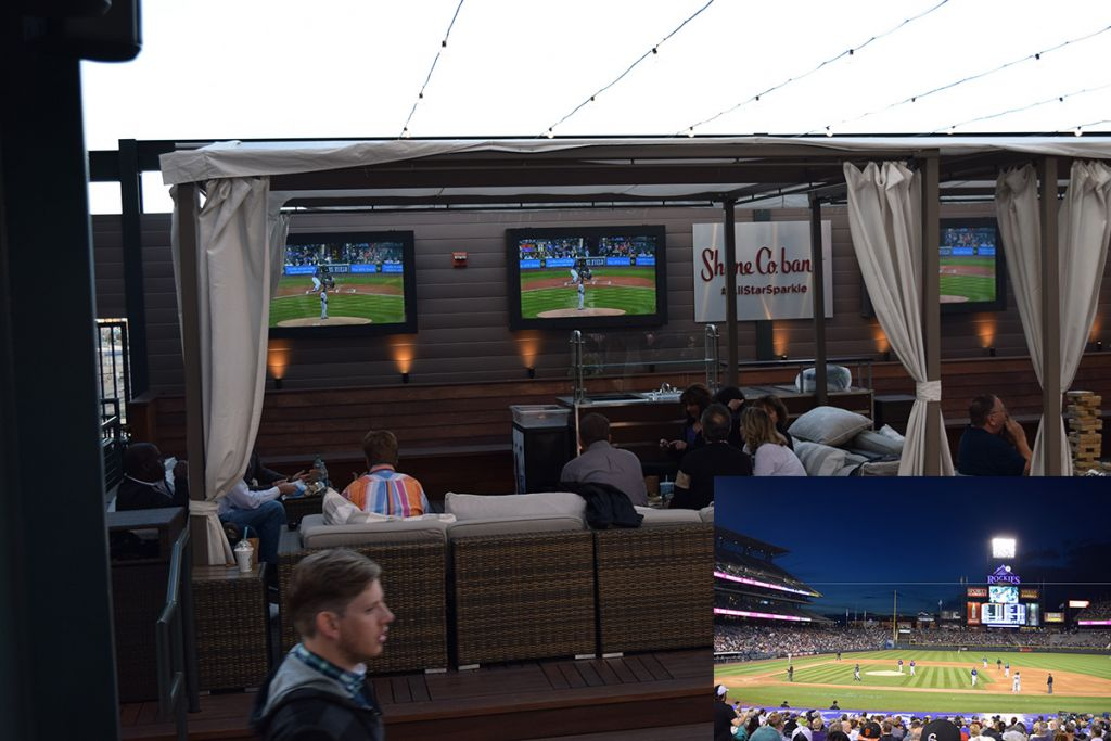 "<span style=""line-height: 20.8px;"">Fans take in the game on our LCD Enclosures at the Colorado Rockies baseball stadium.</span>"