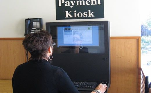 PC Defender used as a payment kiosk.