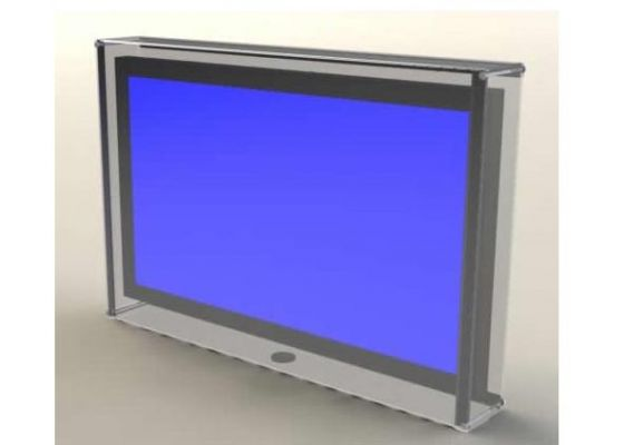Plastic TV Shield